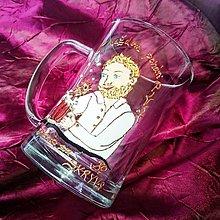 Iné - Maľovaný piváč karikatúra - 6091825_