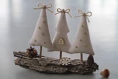- Vianočné stromčeky na kôre - 6093336_