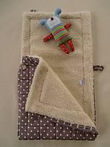 Textil - Detský vak/ fusak 100% ovčie runo MERINO  - 6096965_