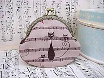 Peňaženky - Taštička kočičí - 6093979_