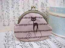 Peňaženky - Taštička kočičí - 6093980_