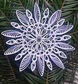 Vianočná hviezda biela