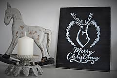Tabuľky - Vianočná tabuľka - 6093085_