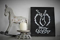 Tabuľky - Vianočná tabuľka - 6093087_