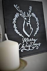 Tabuľky - Vianočná tabuľka - 6093088_