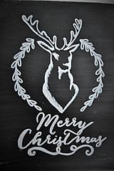 Tabuľky - Vianočná tabuľka - 6093089_