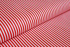 Textil - Úzky červený prúžok - 6099094_