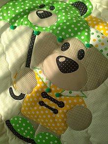 "Textil - Deka pre bábätko..""Macko"" - 6099436_"