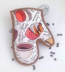Úžitkový textil - chňapka Coffee - 6102790_