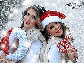 Dekorácie - vianočný veniec - SANTA veľký - 6101864_
