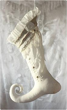 Dekorácie - fusaklína v Shabby ohozu - 6101825_