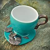 Slza rosy - šálka na kávu/čaj - klasik
