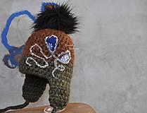 Detské čiapky - tepla zimna - 6103288_