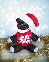 Vianočný medvedík