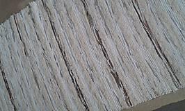 Úžitkový textil - Chlpatý hnedý pásik 170x73cm - 6104616_