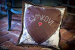 Vankúšik pre Samka