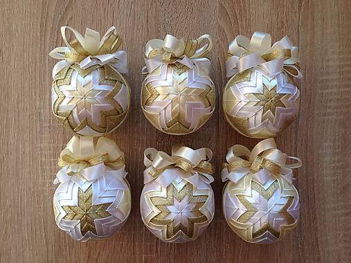 499b08ff5 Patchworkové gule - biela, vanilková, zlatá / Matilda - SAShE.sk ...