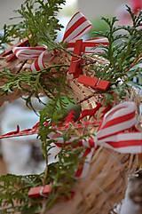 Vianočný venček štipčekový