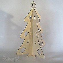 Polotovary - Skladací vianočný stromček 40 cm - 6107545_
