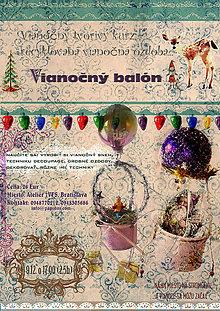 Kurzy - 8., 15.12. : Tvorivý workshop - Vianočný balón - 6110257_