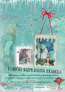 Kurzy - 6., 9., 13.12. - Vianočná rozprávková krabička - tvorivý workshop - 6110474_