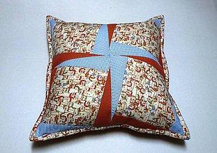 Úžitkový textil - farební snehuliaci - 6113729_