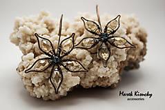 Náušnice - Kvety - 6114944_