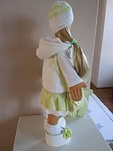 Bábiky - Stella s kabelou a medvedíkom - 6111088_