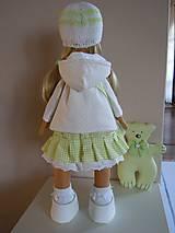 Bábiky - Stella s kabelou a medvedíkom - 6111089_