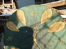 Hodiny - Hodiny medienkovo zlaté