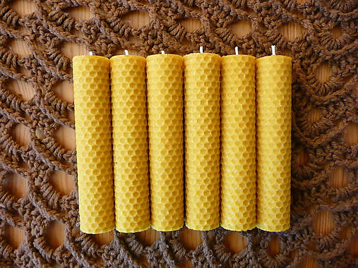 Svietidlá a sviečky - sviečky zo včelieho vosku- svetlo a vôňa - 6113759_