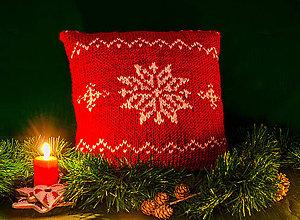 Úžitkový textil - vianočná vločka - 6112197_