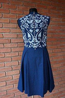 Šaty - Modrotlač - 6112771_