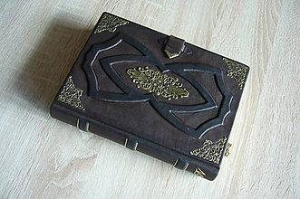 Papiernictvo - Zápisník s kovaním - 6111873_