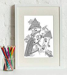 Kresby - čarovný svet mačiek - 6112879_