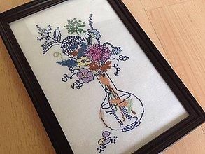 Obrázky - Kytica poľných kvetov - 6113989_