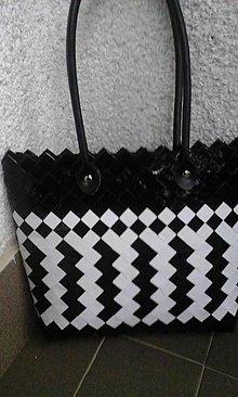 Veľké tašky - Bielo čierna elegancia 1 - 6113672_