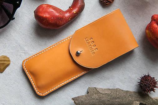 Iné doplnky - Feather Pen Case - Peach - 6117539_
