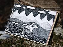 Papiernictvo - Notes větší s koněm - 6116810_