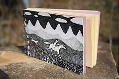 Papiernictvo - Notes větší s koněm - 6116811_