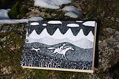 Papiernictvo - Notes větší s koněm - 6116815_