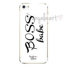 Na mobil - BOSS BABE phone case - 6117234_