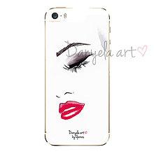 Na mobil - SAD EYE, RED LIPS phone case - 6117305_