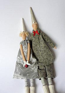 Dekorácie - Vianoce v pyžame - 6117147_