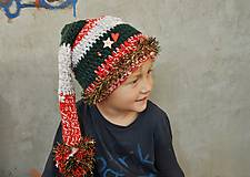 Detské čiapky - vianocna ciapka - 6117264_
