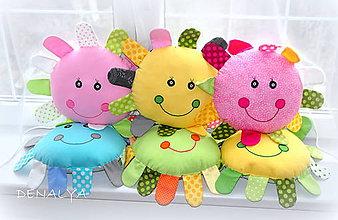 Textil - Usmievavé slniečka 30cm+lúče 7cm - 6122833_
