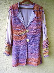 Kabáty - Akcia-Veselý pletený sakokabátik - 6119809_