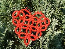 Dekorácie - Vianočné srdiečko 1 - 6123070_