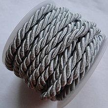 Galantéria - Šnúra točená 5mm-5m - 6123146_