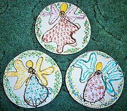 Obrazy - Anjelské trio - 6122816_